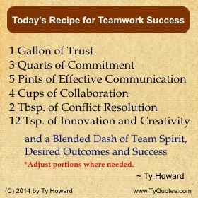 Team Player Quote. Teamwork Quote. Team Building Quote. Team Success ...