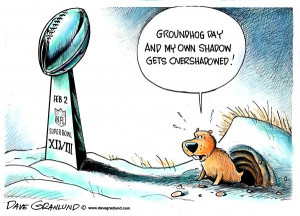 Super Bowl and Groundhog Day