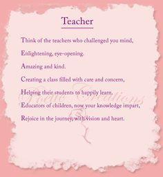 ... inspirational poetry more grade teacher teacher poem high schools