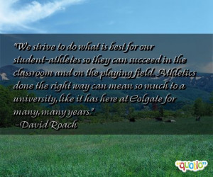 Student Athlete Quotes. QuotesGram
