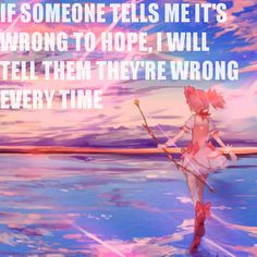 anime quote Madoka