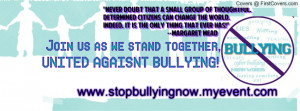 UNITED AGAINST BULLYING cover