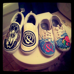 Of Mice And Men Band Quotes | Of Mice and Men Shoes by ~MonteyRoo on ...