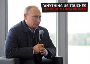 ... touches turns into Libya or Iraq': Top Putin quotes at youth forum