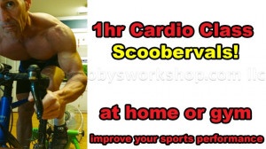 Scoobervals, one hour cardio workout!
