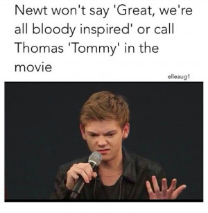 the maze runner thomas brodie sangster liked on polyvore