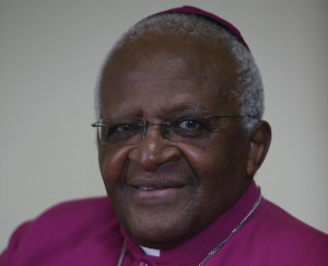 Nobel Peace Prize winner and Anglican Bishop Desmond Tutu shares the ...