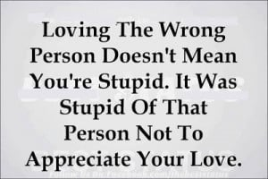 love it loving the wrong person