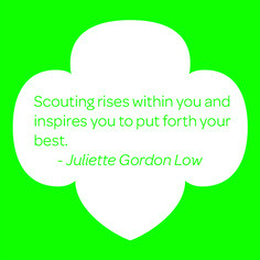 LIKE if Girl Scouts helps you put forth your best! # ...