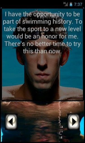 View bigger - Michael Phelps Quotes for Android screenshot