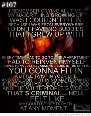 ... Tupac Biography; Tupac Understanding; Tupac's Reading Library; Tupac