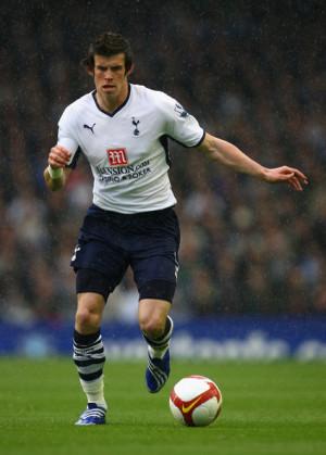Sos...Gareth Bale! Tu velocidad y buen fisico molesta a tus rivales ...