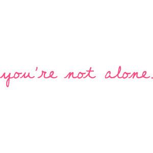 Amanda's Witty Quotes & Lyrics; ♥ - you're not alone.