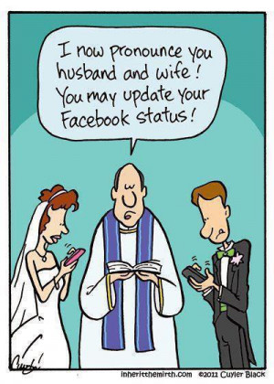 ... important in the AGE of Facebook 'STATUS' and 'LIKE's .. LOL
