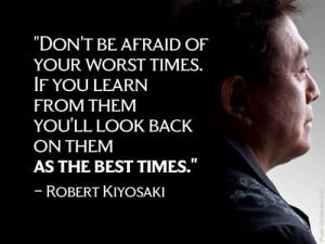 Robert Kiyosaki Wealthy Picture Quote