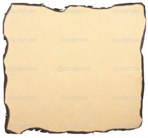 Burnt Paper Background...