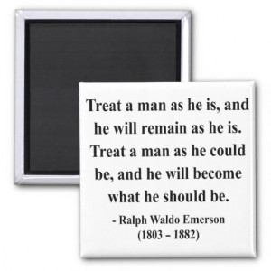 Emerson Quote 9a Refrigerator Magnet