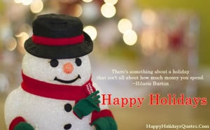 Happy Holiday Quotes and Sayings