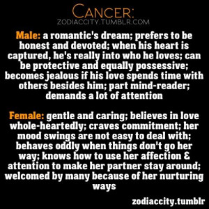 Zodiac Signs, Cancer Female, Cancer Quotes, Cancer Woman, Male Female ...