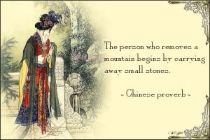 Quote card – chinese proverb