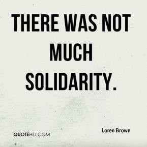 Solidarity Quotes