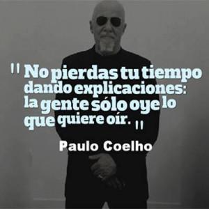 Quote in Spanish by Paulo Coelho