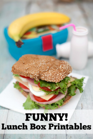 Funny lunch box printables for kids with a sense of humor. Your kids ...