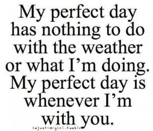 See more about having perfect days with your mate at www.winningatlove ...