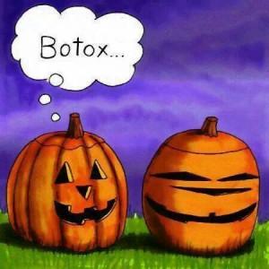 Halloween pumpkin. .. Botox