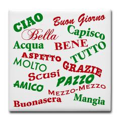 italian sayings tile coaster get the most popular italian sayings ...