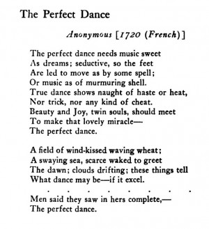The Perfect Dance Needs Music Sweet As Dreams