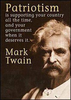 Patriotic quotes.