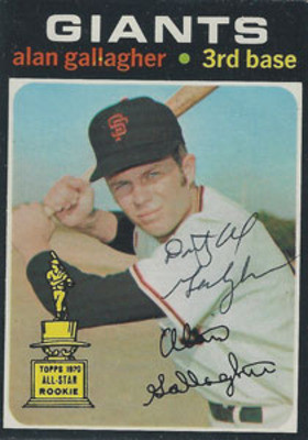 The San Francisco Giants player with the extremely long name, Al ...