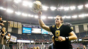 ... the Saints/Drew Brees and the Detroit Lions will be high scoring