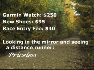 Distance Runner Quotes Distance runner: priceless