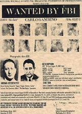 gangster posters~CARLO GAMBINO, ALIAS 'DON CARLO'!!