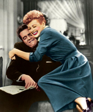 love lucy in color by poo-on-you