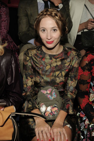 Harley Viera Newton wore a Valentino look from the Spring 2015 ...