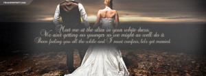 Think I Wanna Marry You Lets Get Married Quote