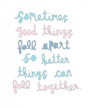 quotes about friendships falling apart Le Love fall apart fall ...