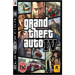 grand theft auto iv 4 gta game platinum ps3