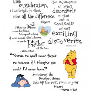 Pooh Quotes - Polyvore