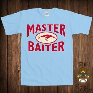 Master Baiter Dirty Joke Fishing Hunting Fisherman Sports Outdoors ...