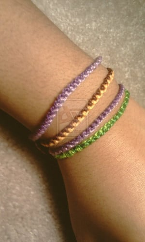 Zipper Friendship Bracelets by xneeneex