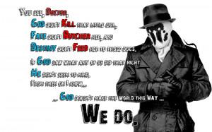 Rorschach Quote 2 wallpaper by TehGreyFawkz