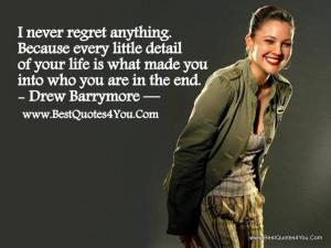 Drew quote