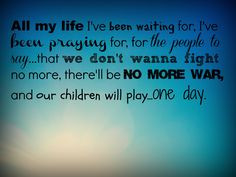 One Day by Matisyahu #quotes #song lyrics