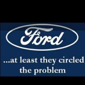 Ford...at least they circled the problem