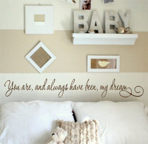 Dream Wall art wall decal wall quote vinyl lettering vinyl wall quote ...