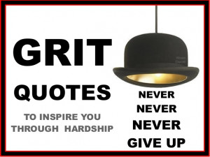 Quotes About Grit